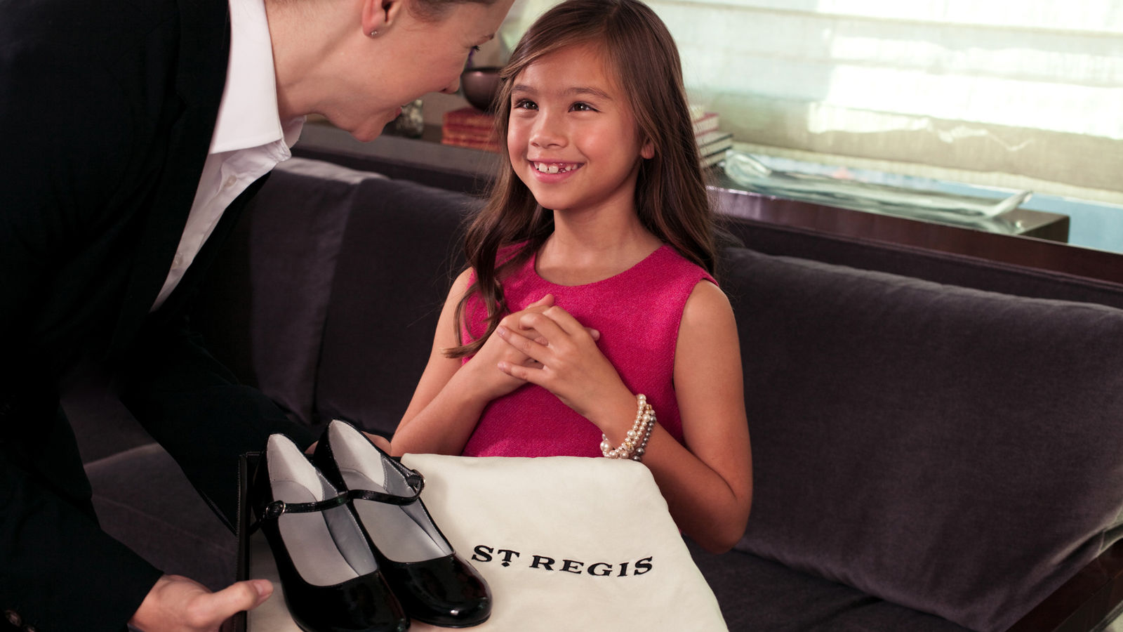 Moscow Luxury Hotels | The St. Regis Moscow | Family Traditions Regis | Butler services, shoe shine service for children.